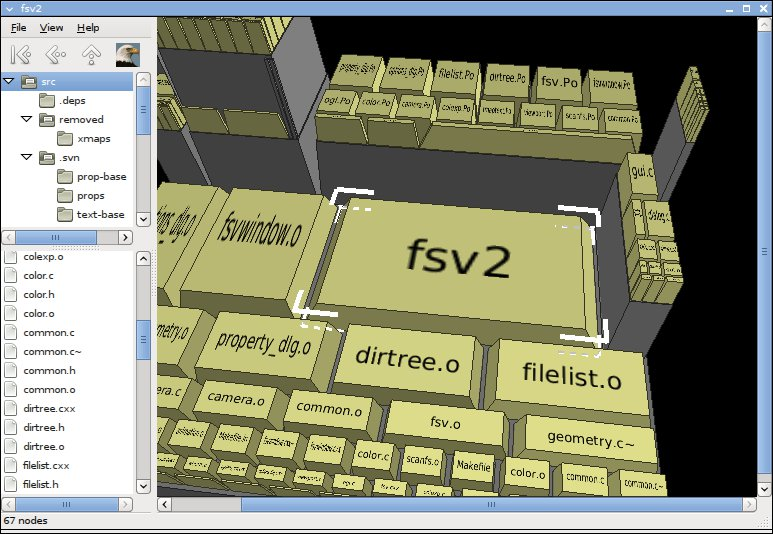 fsv2 gtk2 port of fsv - File S...