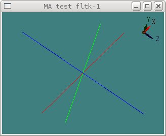 fltk-1 multiarcball example